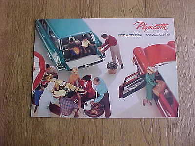 1960 Pylmouth Station Wagon Sales Brochure Advertising