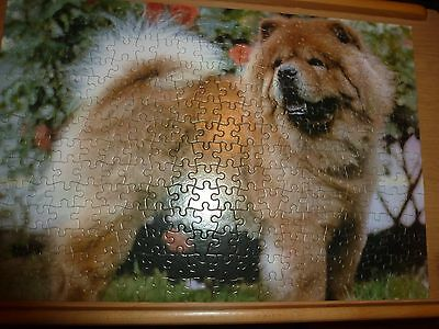 CHOW CHOW DOG JIGSAW PUZZLE by MB - 280 Pieces 50 x 34 cms