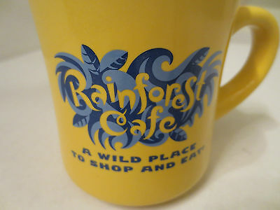 "Rainforest Cafe ""A Wild Place to Shop and Eat"" Mug"