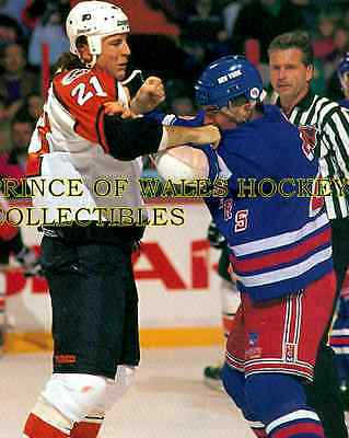 Dave Brown & Tie Domi 8X10 Photo
