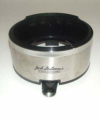 Jack LaLanne Power Juicer Pro E-1189 Stainless Juice Collector Part