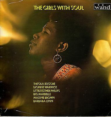 """"""" THE GIRLS WITH SOUL. """" various artists. WAND UK orig L.P.1970."""