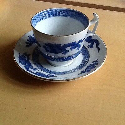 Cauldon Dragon China Cup and Saucer