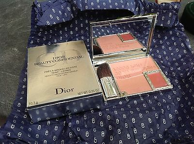 Dior Beauty Confidential Blusher Face & Lips Mirror Compact Makeup 001 Bnib