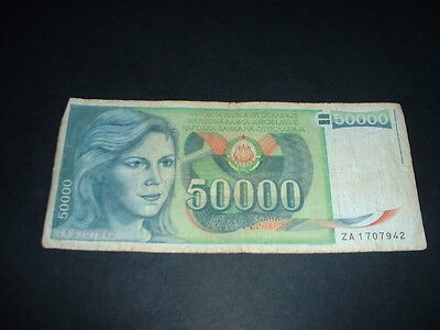 Old  World Banknote  As In Picture   (10 A
