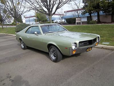 1968 AMC Javelin Base Beautiful 1968 Javelin 4 speed with Air Conditioning Gauges and tach