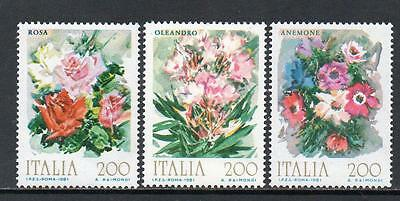 Italy MNH 1981 Flowers