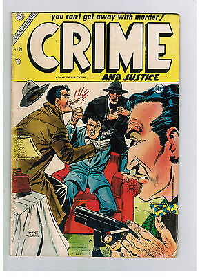 CRIME AND JUSTICE COMIC No. 20 from 1954 Hercules Publishing