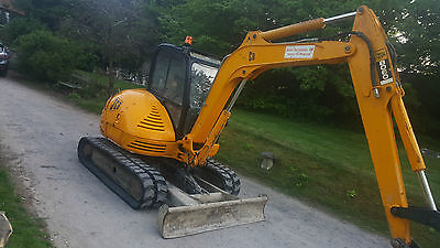 2006 Jcb 8060 6 Ton Zts Digger Excavator With 4 Buckets
