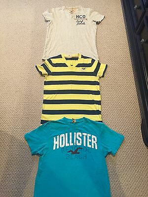 Mens Hollister Tee Lot Of 3 Size Small