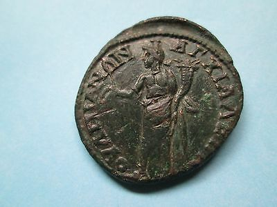GORDIAN III & TRANQUILLINA Bronze Coin of Anchialus 26 mm 9.7 grams