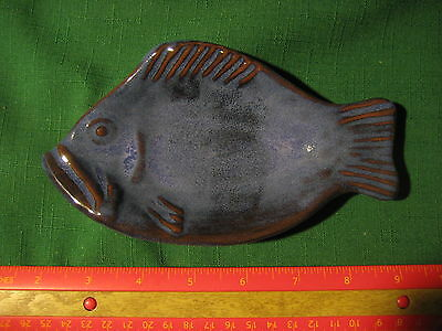 """Vintage Thora Small Fish Plate app. 6 3/4"""" long"""