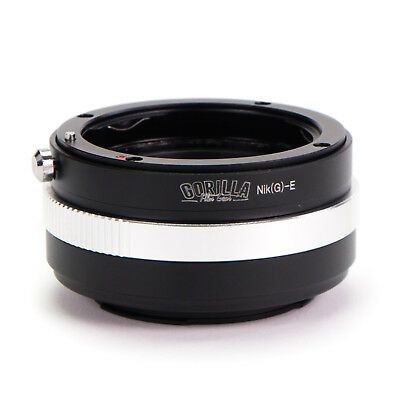 High Quality Adapter Ring Nikon G F Lens to Sony E-Mount Camera NEX A7S A7R II