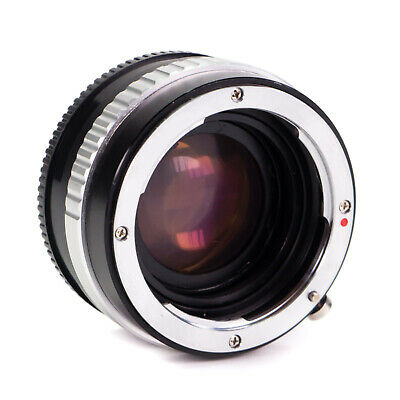 Focal Reducer Nikon G F Lens to Sony E-Mount APS-C Camera NEX Speed Booster