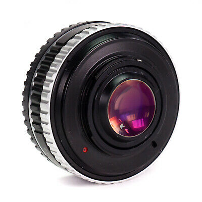 Focal Reducer Canon EF EF-S Lens to Micro 4/3 Mount Camera M43 Speed Booster