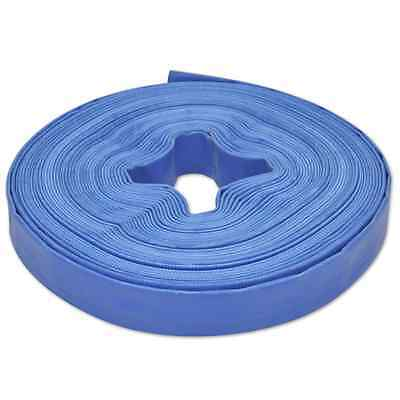 1 Inch 25mm PVC Layflat Hose Water Pump Transfer Lay Flat 25m Outlet Discharge