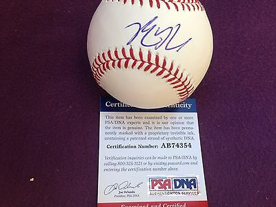 Kris Bryant signed OMLB. Sweet spot PSA/DNA. MVP of the NL. WS Champs! Cubs!!