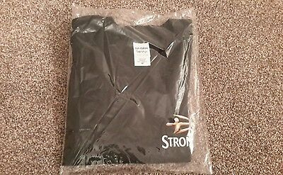 Strongbow Size Medium  100% Cotton  Crew Neck T Shirt Earn It New Clearance Sale