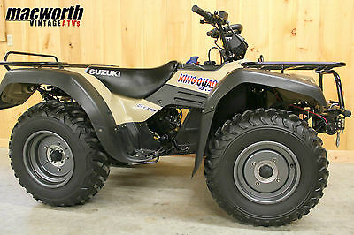 1999 Suzuki King Quad 300 4X4 - One Owner - Near Showroom Condition - 630 Miles