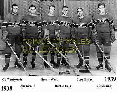 1938-39 Montreal Canadiens Team Photo 8X10