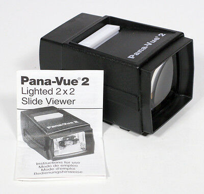 Pana-Vue 2 Lighted 2 x 2 Slide Viewer - Used