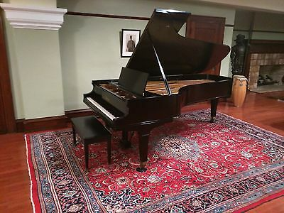 Bargain price on this Baldwin Concert grand piano and matching  Steinway  bench.