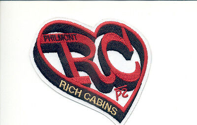 Patch From Philmont Scout Ranch-Outpost Camp- Rich Cabins