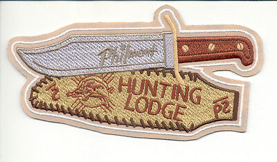 Patch From Philmont Scout Ranch-Outpost Camp- Hunting Lodge