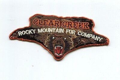 Patch From Philmont Scout Ranch-Outpost Camp- Clear Creek