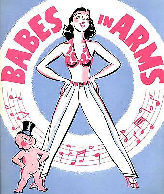 """1937 """"Babes in Arms"""" Mitzi Green Rodgers & Hart Ray Heatherton Nicholas Brothers"""