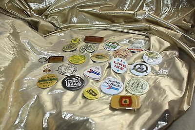 Vintage Badges Bottons Amtrak, Union Pacific And Much More