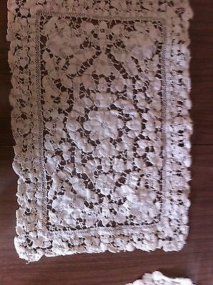 Antique Italian Point Lace Mat