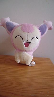 Peluche Skitty Plush Doll Pokemon Kawaii Ufo Banpresto Excellent condition 2005