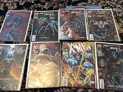 Comic Collection In Mint Condition Darkness Plus Xmen