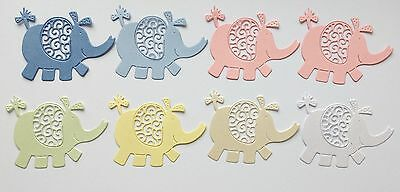 Tattered Lace Elephant Die Cuts - Baby Mix