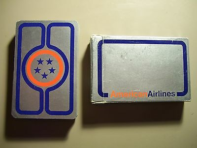 Rare American Airlines Deck Of Playing Cards.(Ex)