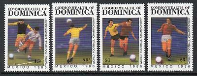 Dominica MNH 1986 Football World Cup