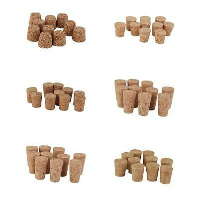 10xTapered Wine Corks Stoppers Craft Art Modelling DIY Cork Board