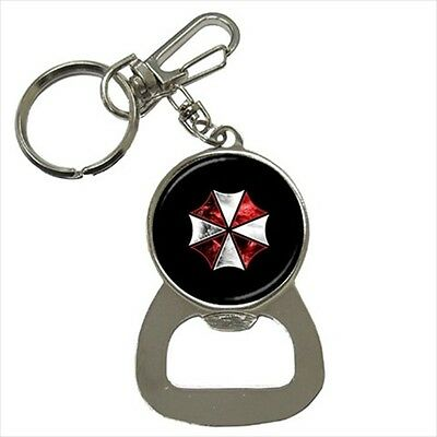 Resident Evil Umbrella Corp Key Chain w/ Bottle Opener