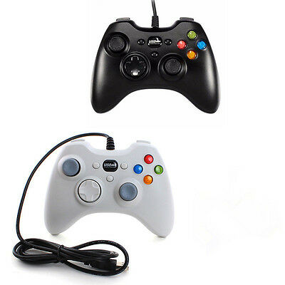 USB Wired GamePad Controller For Microsoft Resembles Xbox 360 Console PC Laptop