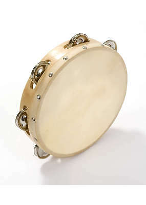 Classic Tambourines with Hide head (Size Options)