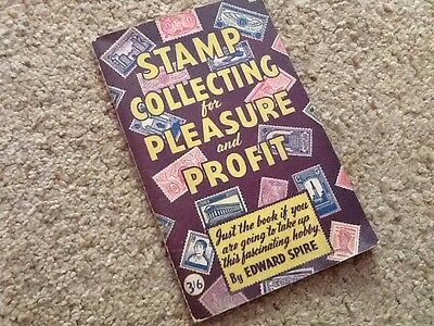 Vintage 1945 Book Stamp Collecting For Pleasure And Profit