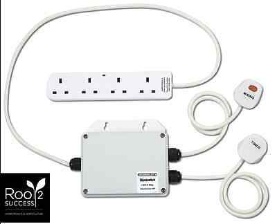 Maxibright 4 Way 13A Relay RT Hydroponics Lighting Contractor