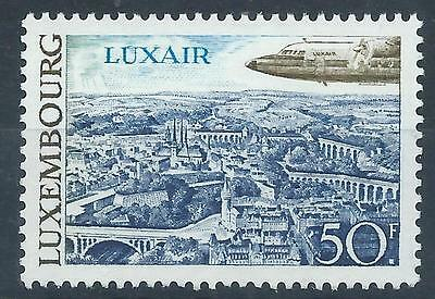 LUXEMBOURG 1968 SG828  Tourism Fokker F.27 Friendship Airplane MINT MNH A#007