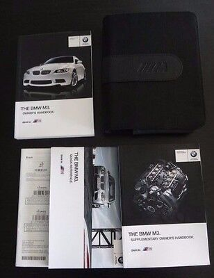 BMW M3 Coupe/Convertible Owners Manual/Handbook Pack & M Wallet 2011-2013