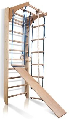 Wall Bars Swedish Ladder Sport Children Wooden Home Gym Gymnastic Climbing Toys