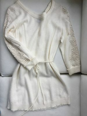 Warm and Cosy Long Maternity Sweater from H&M Mama, Size M Medium Excellent Cond