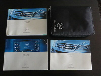 Mercedes M Class (ML) W164 Owners Handbook/Manual/COMAND Pack & Wallet 2005-2008
