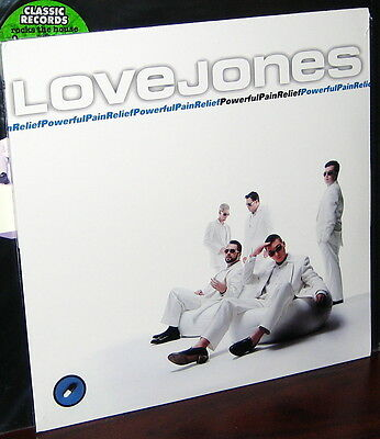 CLASSIC RECORDS 2LP RTH-1095-1: LOVE JONES Powerful Pain Relief OOP 1995 150g SS