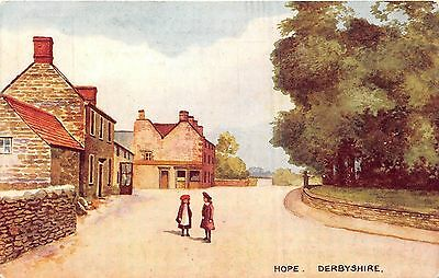 Postcard    Derbyshire   Hope